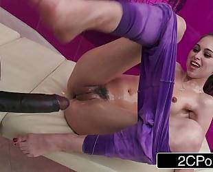 Teen riley reid's big black pecker massage