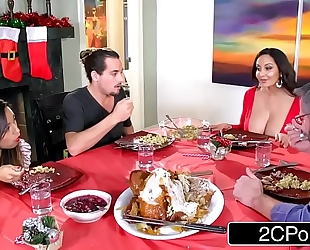Horny bored mama ava addams bonks her daughter's boyfriends on christmas
