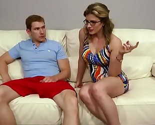 Family therapy - cory pursue hawt mother trio with sons
