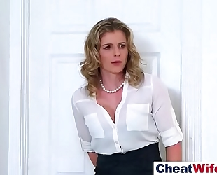 Hardcore sex with fascinating cheating sexy slutty wife (cory chase) video-10