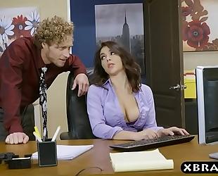 Big arse valentina nappi office footjob oral-sex and fuck