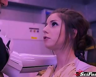 Stella cox got her cookie smashed in star wars porn parody