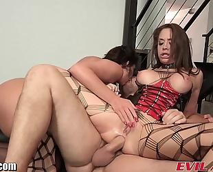 Evilangel phoenix marie anal 3some