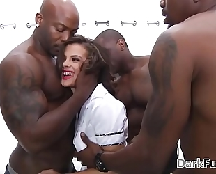 Brutal monster cock anal bang - keisha grey
