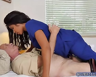Hardcore fucking with ebon nurse jenna foxx