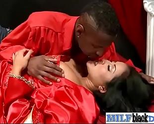 Mature lewd black cock slut (kiara mia) ride giant dark mamba schlong on tape vid-14