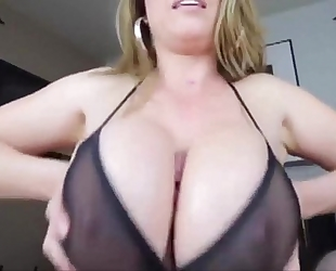 Gianna michaels titfuck pov by pool: oral job & tittyfuck