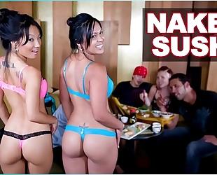 Bangbros - stripped sushi with oriental pornstar asa akira and tasha lynn
