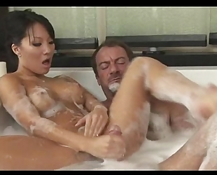 Soapy plays with pretty asa akira