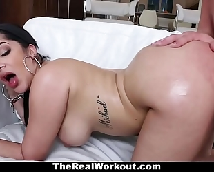 Teamskeet - sexy cuban chick copulates trainer