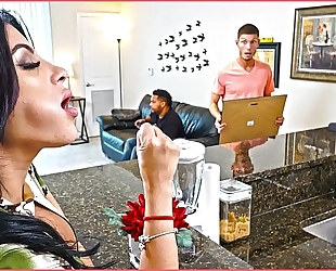Bangbros - kitty caprice acquires her latin large butt drilled whilst her bf is home