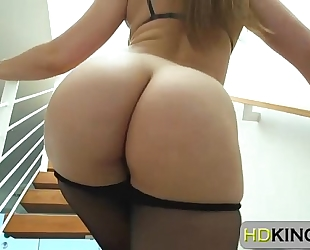 Dani daniels teasing a chap with her butt