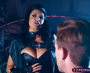 Horny space witch desires a piece of ramrod in her wazoo