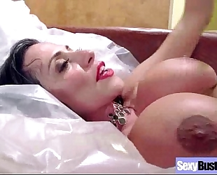 Sex scene with superb large milk shakes slutty white bitch (ariella ferrera) video-05
