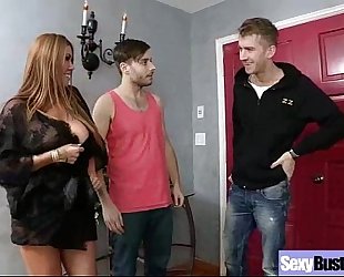 Sex act with large round melons housewife (kianna dior) video-21