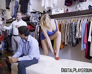 Digitalplayground - below foot blair williams van wylde