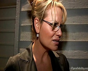 Captured chap toy pleases 2 hawt women kelly madison and kagney linn karter