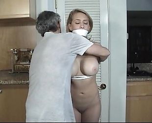 Door to door wife tied and gagged part two