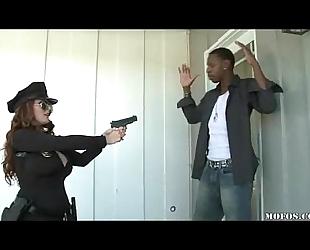 Police sweethearts loves it dark!