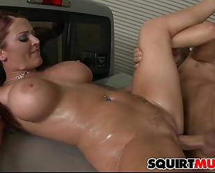 Sophie dee squirting cum-hole