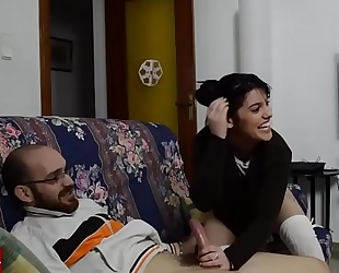 Jesús bonks his girlfriend and pamela helps 'em. raf094