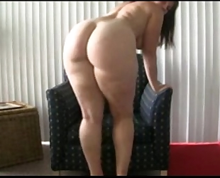 Wife's most excellent ally shares her large arse - greater amount at moistcamgirls.com