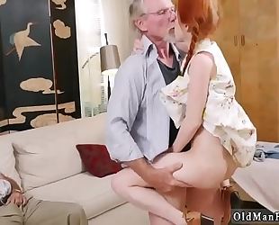 Crazy old fellow 1st time online hook-up
