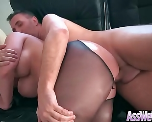 Hard unfathomable anal sex with large oiled butt Married slut (brooklyn chase) clip-10