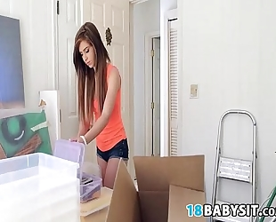 New year, fresh babysitter to fuck - joseline kelly 00013