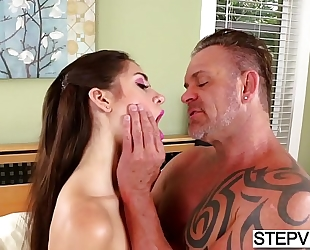 Tied stepdaughter joseline kelly acquires used