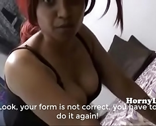 Horny lily mama son peculiar training classes in hindi english