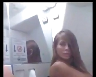 Madison ivy teases on a plane