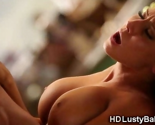 Sexy playgirl madison ivy receives cum!