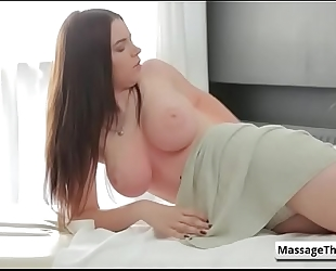 Fantasy sex massage - fuck her love melons with marina visconti massage video-01