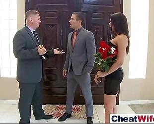 Horny dirty slut wife (rachel starr) cheats in hard style sex act tape vid-22