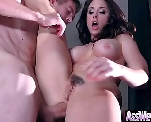 Deep hard anal sex with large round wazoo wife (chanel preston) video-14