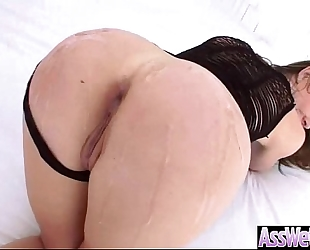 (chanel preston) dirty slut wife receive oiled on her large booty and anal nailed video-11