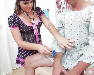 Horney nurses with natasha fine