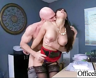 (reena sky) office whore white bitch with large melon milk sacks gangbanged hardcore mov-26