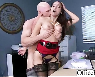 Hard sex act in office with breasty nasty hotwife (reena sky) vid-24