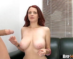 Red-head jessica rabbit acquires screwed hard in her 1st porno 1.7