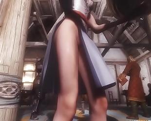Skyrim [smv] indecent diana