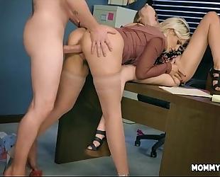 Office sex with mamma and daughter - alena croft, kristen scott