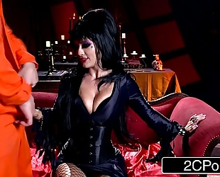 Elvira the dominatrix - midnight madness w/ beautiful horror hostess katrina jade