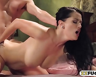Sultry playgirl katrina jade group-fucked so unfathomable in the bedroom