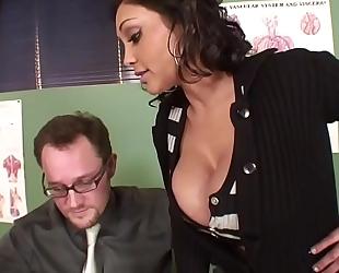 Priya rai copulates her professor alec knight for the grade hd