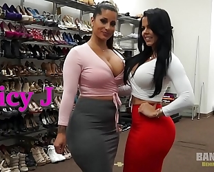 Bangbros - behind the scenes with latin babe sweethearts spicy j and diamond kitty