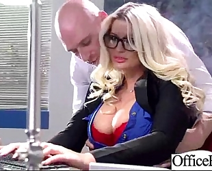 Hardcore sex scene in office with doxy wicked breasty wife (julie cash) clip-18