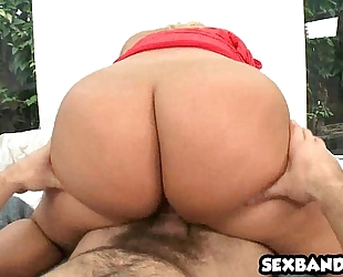 Big wazoo latin chick julie specie receives priceless doggy position 03