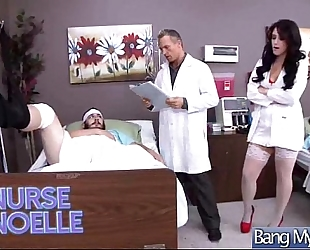 Horny patient (noelle easton) acquire sex from doctor movie-19